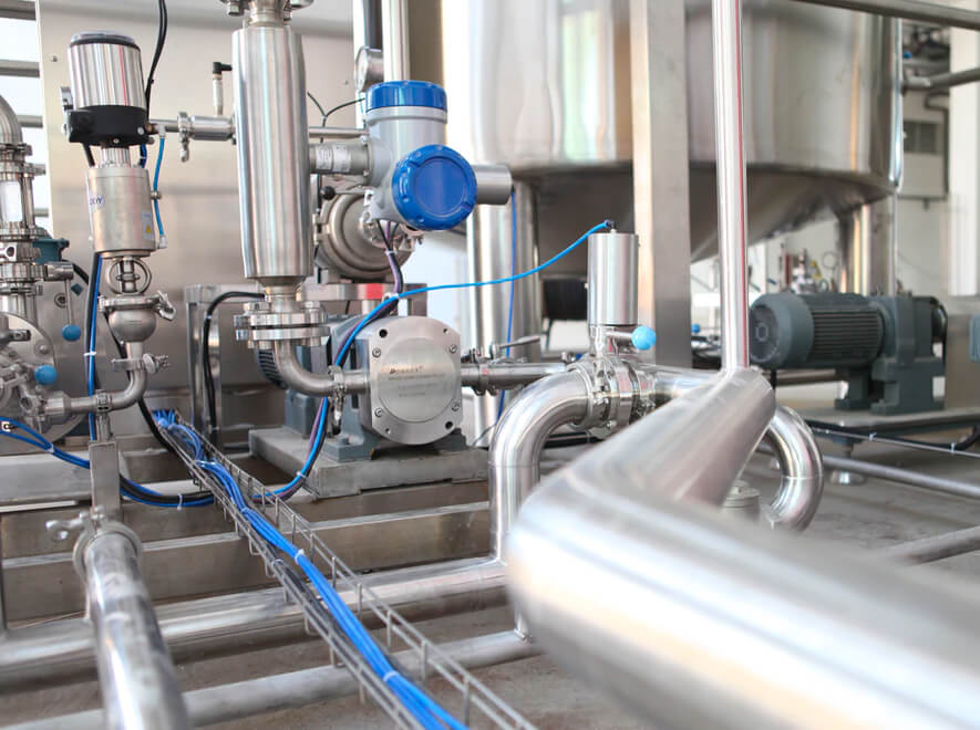 Le Groupe LML | Système automatisé dans une usine
