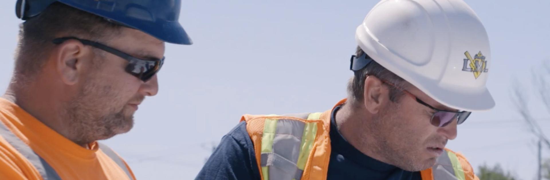Le Groupe LML | Travailleurs de la construction