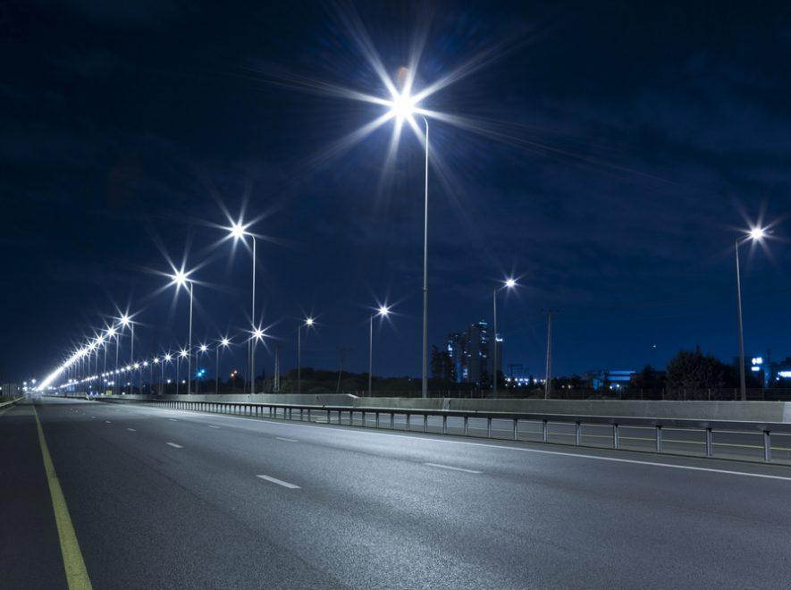 Le Groupe LML | Lumières sur un pont la nuit